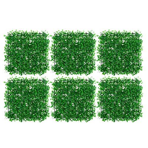 BESPORTBLE 6pcs Artificial Grass Lawn Simulation Plants Garden Decoration Micro Landscape Fish Tank Lawn Fake Grass Landscape Backdrop Props