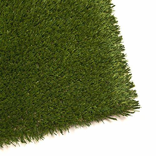 Aleko  24 Sqft Indooroutdoor Artificial Garden Grass Monofil Corrosion Mildew And Environmental Pollution
