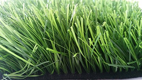 Zen Garden Tall Premium Synthetic Grass Rubber Backed with Drainage Holes Blade Height 24 60mm 73 ozsq yard 5 ft x 3 ft