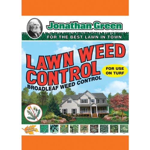 Jonathan Green 12195 Lawn Weed Control Broadleaf Fertilizer 5000 Square Feet 10 Lb Bag