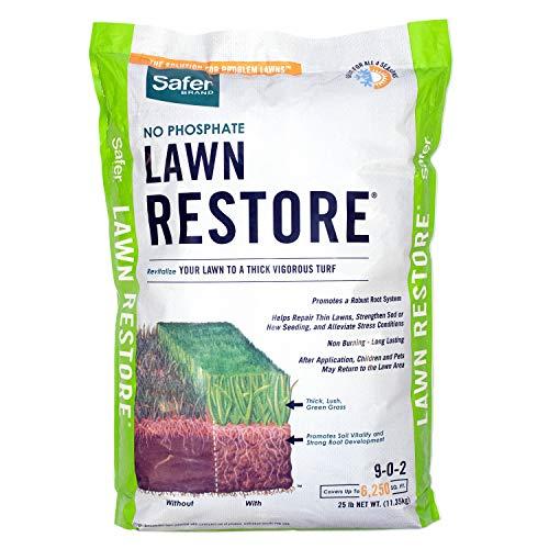 Safer Brand 9334 Lawn Restore Fertilizer - 25 lb