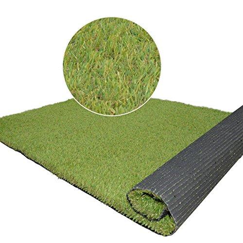 Synturfmats Premium Indooroutdoor Artificial Grass Rug- 4x5 Synthetic Turf Lawn Carpet For Dog Pet Area 15
