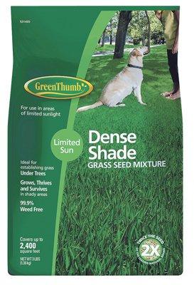 Barenbrug 531493 Green Thumb 3LB Shady Grass Seed