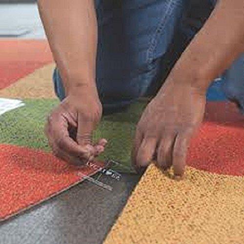 Flor Tactiles Carpet Tile Adhesive Squares 40 Pack Model  Outdooramp Hardware Store