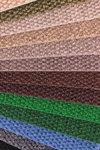 IncStores - Hobnail Carpet Tiles Residential Flooring Self Adhering 18x18 16 Tile Pack 36 Sqft Chestnut Color Chestnut Model  Outdoor Hardware Store