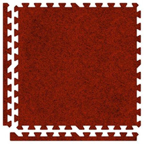 Soft-carpet Inter-locking Tiles 2 X 2 X 58&quot 14mm