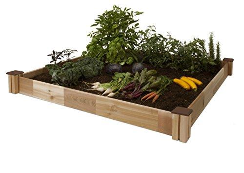 CedarCraft Raised Garden Bed 34 X 34 X 6