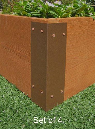Raised Garden Bed Corner Brackets - For 12H Beds