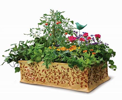 The Little Acre Raised-bed Vegetable Garden junior 2x3x8&quot Vine Print