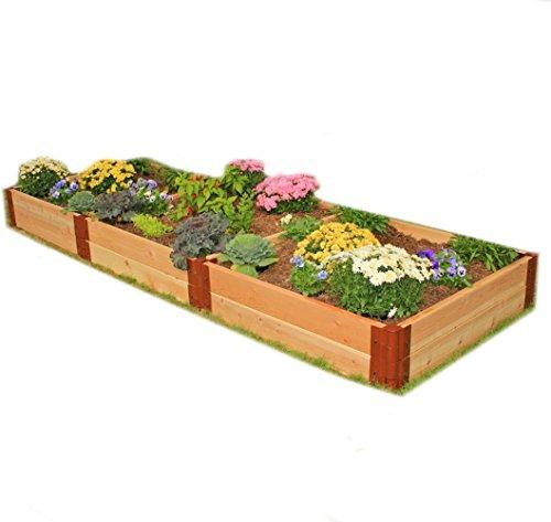Frame It All Two Inch Series Cedar Raised Garden Bed Kit 4 x 12 x 12