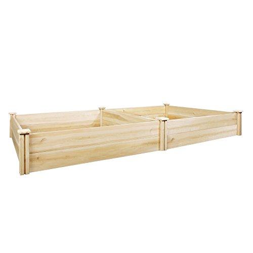 Greenes Cedar Raised Garden Kit - 4 ft x 8 ft x 11H in