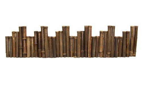 Black Bamboo Border Edging 1' X 8'