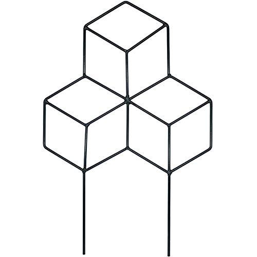 Creation Core 1Pcs Iron Lattice-Shaped DIY Garden Pot Climbing Trellis Plant Support Stakes Flower Supports