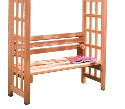 Arboria 42-inch Cedar Seat With Back