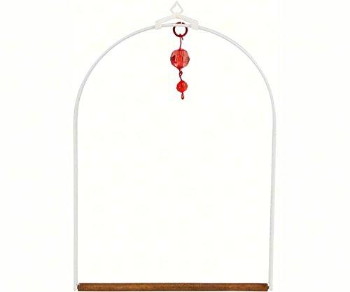 2 PACK White Arbor Swing