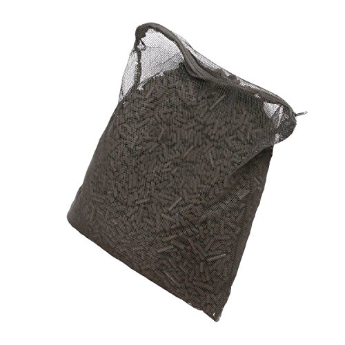 55 Lbs Activated Carbon Charcoal in 11 Media Bags for Aquarium Fish Tank Koi Pond Filter 5lbs X 11