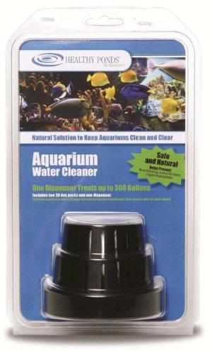 Healthy Ponds 50175 Aquarium Treatment Dispenser with 2 Refills