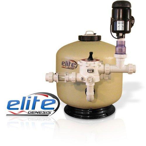 Elite Pumps GF6 Genesis 6000 Pond Bead Filter with 2 HP Media Agitator