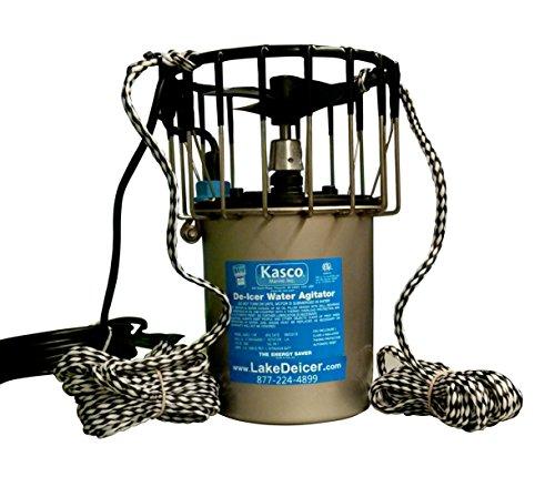 Kasco Marine Lake Pond De-icer 1hp - 120v Deicer 100ft Power Cord Ropes