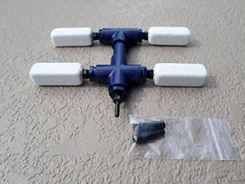 Koi Pond Aerator  Aquaponics  Hydroponics synergistic Diffuser Manifold Model Adm-0401  Deicer - Airlift