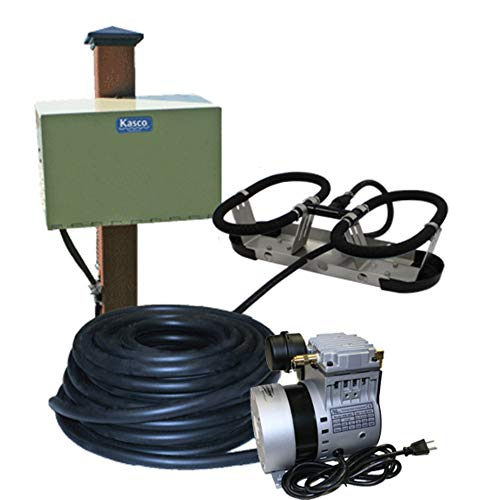 Kasco Marine Robust-Aire Aquatic Aeration System RAH1PM - for Ponds to 15 Surface Acres 230 Volts Includes Post Cabinet Mount