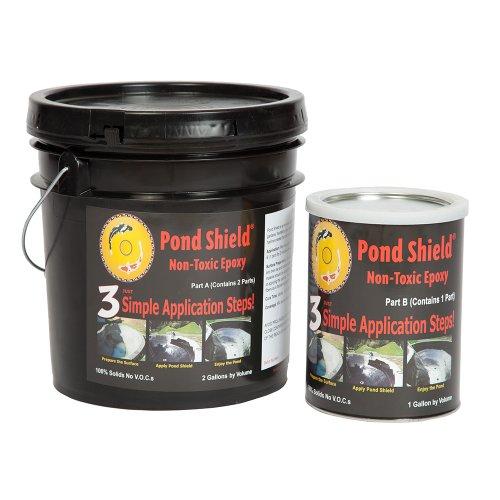 Pond Armor SKU-CBLUE-3GA Non-Toxic Pond Shield Epoxy Paint 3-Gallon Competition Blue