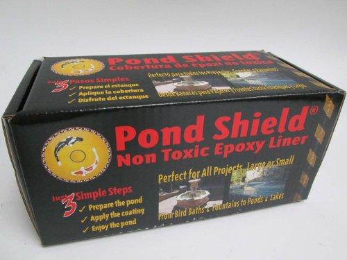 Pond Armor Sku-black-3ga Non-toxic Pond Shield Epoxy Paint 3-gallon Black