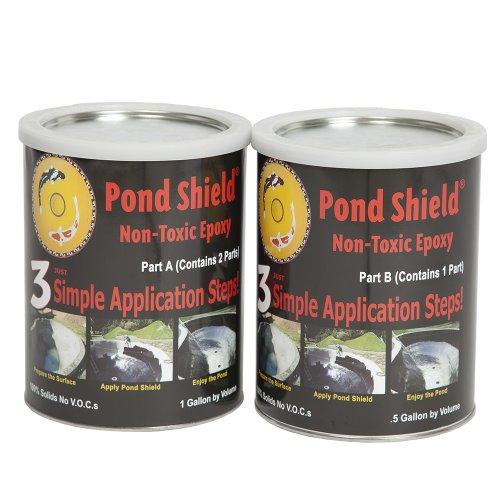 Pond Armor Sku-black-ga Non-toxic Pond Shield Epoxy Paint 15-gallon Black