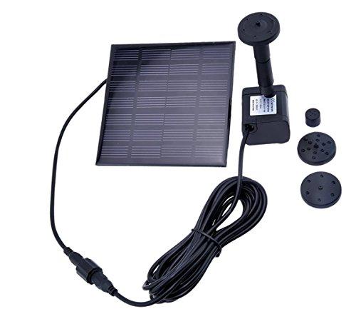 Lsgoodcare 12 Watt Solar Power Panel Kit Water Pump for Lawn Garden Pond Fountain Pool