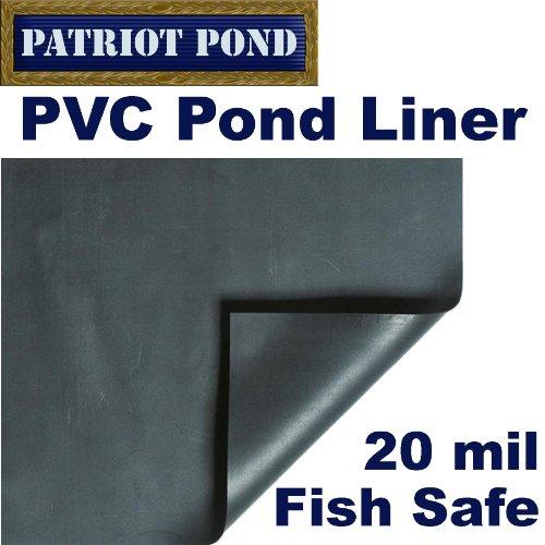 7 x 7 Patriot 20 mil PVC Pond Liner