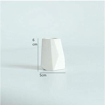 Fiesta Pinkmore Concrete Planter molds for Sale 3D Geometric Flower Pot Silicone molds Dark Khaki
