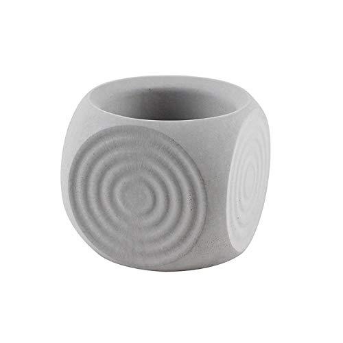New Bonsai Flower Pot Silicone Mold Concrete Planter Mould Handmade Cube Cement Mould