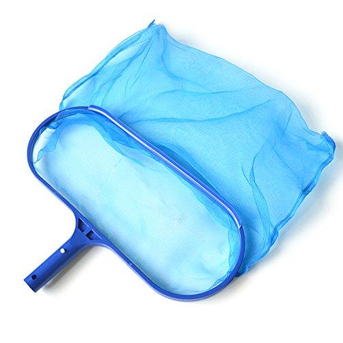 SupplyPro Swimming Pool Skimmer Leaf Net Nylon Micro-Mesh Skimmer Net Fits Most Standard Pole for Removing Swimming Pool Leaves Debris Deep-Bag Pool Skimmer