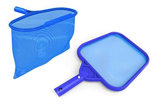Swimming Pool Skimmer Net And Leaf Rakesndash Fine Meshndash Heavy Duty