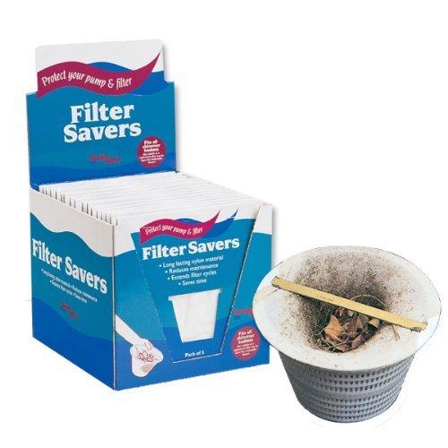 Pool Filter Savers - Skimmer Socks 5-pack Garden Lawn Supply Maintenance