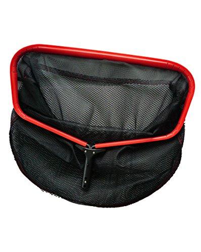 Fibropro Professional Grade Metal Frame Swimming Pool Leaf Skimmer Net 24&quot L