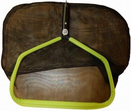 Pool Rake  Net 170 inch Green Rim and Black Mesh 170GCBO