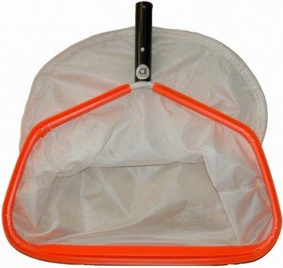 Pool Rake  Net 170 inch Orange Rim and White Mesh with Backing 170OFW1