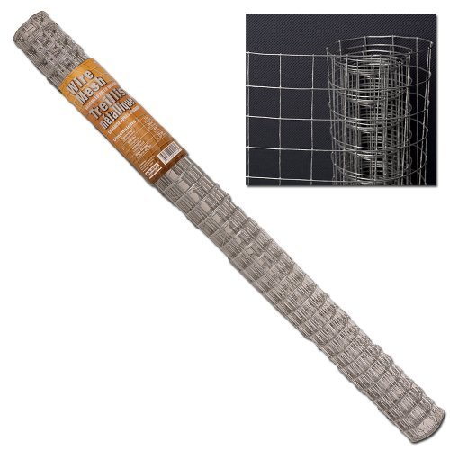 Galvanized Welded Wire Mesh - Hutch Cage Fence - 915 X 25cm X 18m