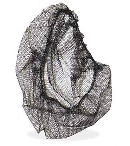 Diane Fine Nylon Hair Nets - Black 3 Pack