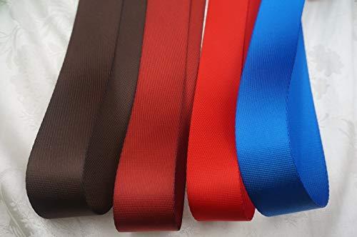 FidgetFidget 1-14 5 Yds Mid Weight Fine Nylon Webbing 32mm Blue