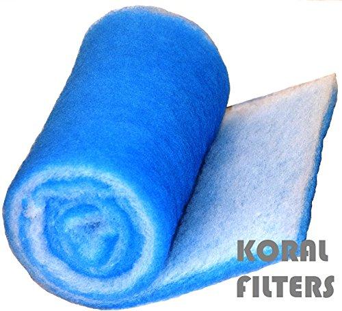 Koi Pond Aquarium Filter Media 6 ft roll