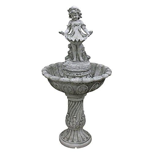 Design Toscano Abigails Bountiful Apron Cascading Garden Fountain
