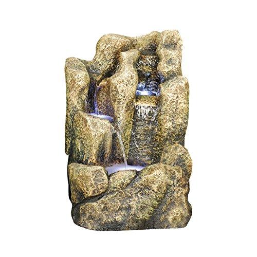 Design Toscano Saddleback Butte Cascading Garden Fountain