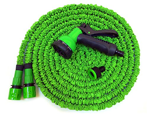 Hose Pipe 100ft Xpassion Expandable Garden Water Hose Pipe Magic Hose Stretch Hosepipe with 8 Function Multifunctional Spray Gun