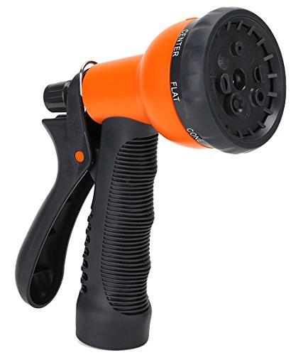 Garden Hose Nozzle 8 Pattern Sprayer