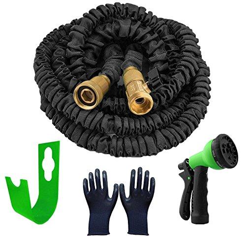 Best Flexible Garden Hose - Green Garden - 50 Ft - Expandable Hose - Retractable Lightweight - New Strongest Hose