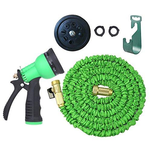 Flexible 50 Ft Expandable Hose Expanding Garden Hose Watering Hose Best Quality Solid Brass Hose Connectors