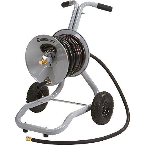 Strongway Garden Hose Reel Cart - Holds 150ft x 58in Hose