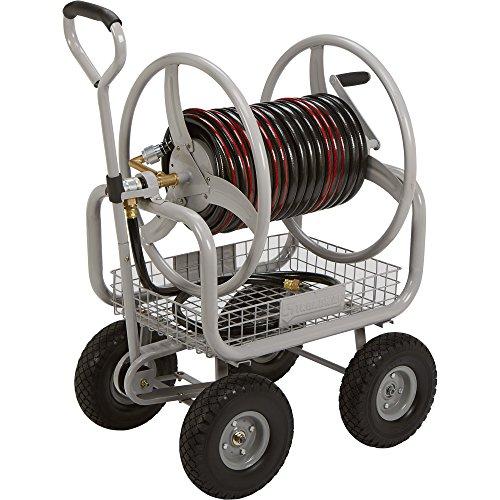 Strongway Garden Hose Reel Cart - Holds 400ftL x 58in Dia Hose
